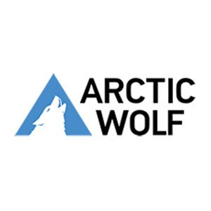 arctic wolf logo on white