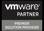vmware premier solution provider logo on white