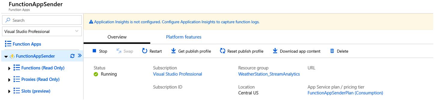 azure function application