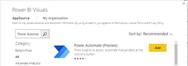 power bi power automate