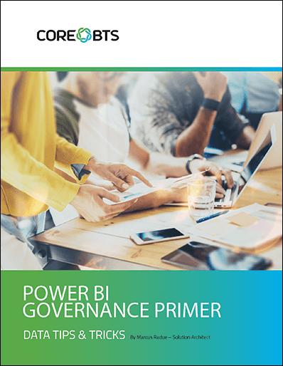 power bi governance primer