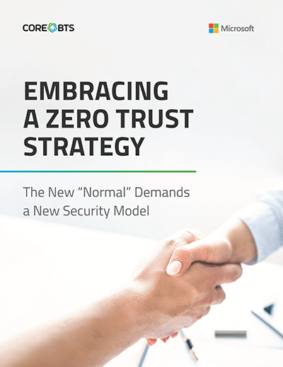 zero trust security strategy white paper cover